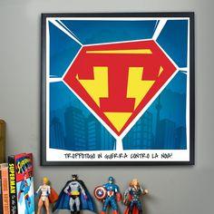 Poster Superman Personalizzabile | Troppotogo