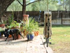 St Germain Glass Bird Feeder for Garden / Bird Lover Gifts /