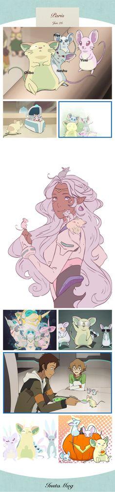 Princess Allura and her mice