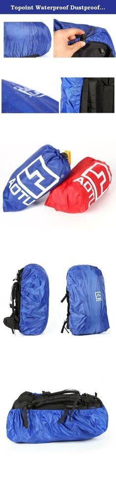 25b6116f9e17 Topoint Waterproof Dustproof Backpack Rain Cover