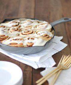 """Better Than the Bakery Cinnamon Rolls - Say goodbye to dry and boring cinnamon rolls and hello to these soft, fluffy, and gooey treats! An adaption of all the best parts of the """"perfect"""" rolls to make the ultimate (and best) recipe!"""