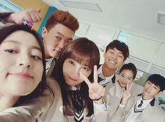 kang minah, kim minho, jung eunji, son bum jun, park yoona and K Drama, Drama Fever, Heirs Korean Drama, Drama Korea, Sassy Go Go, Up Cast, Asian Fever, Cute School Uniforms, Ensemble Cast