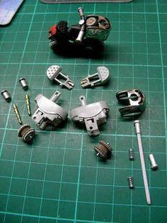 Mini motos creativas hechas con encendedores. | Quiero más diseño