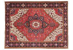 "large Persian Heriz, 12'5"" x 9'3"" on OneKingsLane.com"