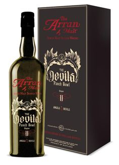 The Arran Malt Devil's Punchbowl Chapter II Single Malt Scotch - @thebottlespot #bottlespot