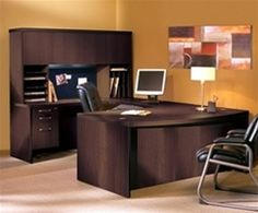 Modular executive desk from the popular Aberdeen executive furniture series of laminate casegoods furniture from Mayline on sale now. Enjoy this discount executive desk solution with free delivery at Office Furniture Deals today. Office Desk Set, Pc Desk, Home Office Desks, Office Suite, Office Chairs, Discount Office Furniture, Home Office Furniture, Kitchen Furniture, Aberdeen