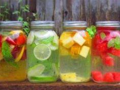 Como preparar água aromatizada