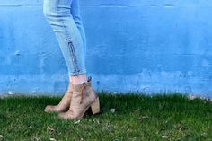 #booties #spring #denim #blue