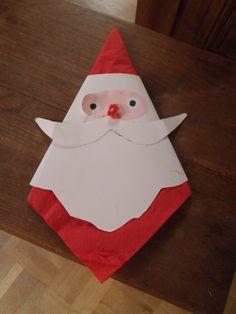 Père Noël porte serviette. NellyCV