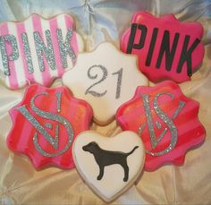 ****ALL HOLIDAY ORDERS MUST BE PLACED BY DEC 11TH****  Give the gift of PINK to the woman in your life this holiday season! 4- PINK cookies