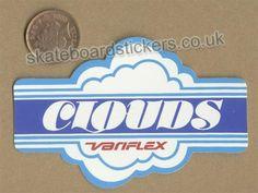 logo...i have a veriflex with clouds on em