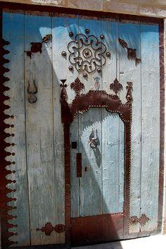 Blue door, Sousse Tunisia
