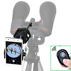 Gosky Quick Cell Phone Adapter Mount Compatible With Binocular Monocular Scope Good Taste Binocular Cases & Accessories Cameras & Photo