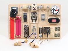 Montessori toy Plywood Sensory board for kid Fabulous toy