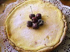 Arome si culori : Tarta cu cirese si crema de branza Camembert Cheese, Dairy, Pie, Desserts, Food, Torte, Tailgate Desserts, Cake, Deserts