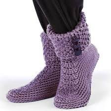 Resultado de imagen para crochet slipper boots free pattern