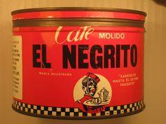 """CAFE """" EL NEGRITO """" SABROCITO HASTA EL ULTIMO TRAGUITO"""
