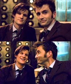 I love david tennant, as the doctor and as a person c: i adore matt smith he is my doctor! <3 i dont think i can handle a 12th... What if i dont like him? What if he doesnt fit the part well?? I cant.. Just cant.. Too many feels D: *sigh*
