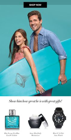 You can still get Dad or the Man in your life something he will love!  Get 20% OFF any order of $60 or more, Use Code: FORDAD, this offer expires midnight 6/19/16. Direct Delivery only and excludes Avon Living and Avon Auto-Replenish.  Shop 24/7 at https://lrubalcaba.avonrepresentative.com/ #ForDad #Avon4Men #FathersDay #Avon #AvonRep