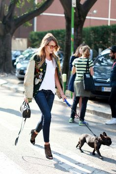 Milan Fashion Week- Italian Street Style 2013