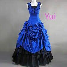 vestido de baile da yui (alem do amanha)