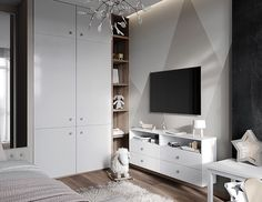 Ideas For Baby Room Modern Boy Bedroom Ideas Small Space Interior Design, Kids Room Design, Modern Interior Design, Trendy Bedroom, Kids Bedroom, Bedroom Ideas, Room Interior, Interior Design Living Room, Girls Bunk Beds