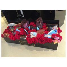 Instagram media by maisondesfleurs_ae - Red Roses & choclates  #maisondesfleurs#giftideas#choclates#sweets#redroses#birthdays#celebrations#occassions#proposals#instalove#delivery#flowerarrangements#mydubai#abudhabi#alain