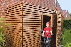 Blueprint shed - Blueprint shed - Garage Velo, Garage Shed, Woodworking Guide, Woodworking Projects Plans, Shed Blueprints, Diy Storage Shed, Bike Shed, Shed Plans, Furniture Plans
