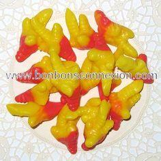 Chicken gummy feet - Pattes de poulet gélifiées