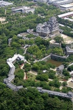 Himeji-jo castle, Japan, world heritage since 1994