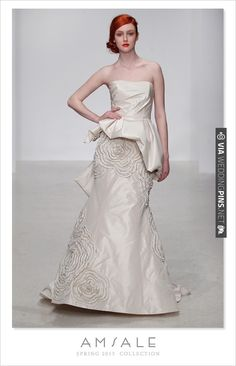 Amsale spring 2013 collection | CHECK OUT MORE IDEAS AT WEDDINGPINS.NET | #weddingfashion