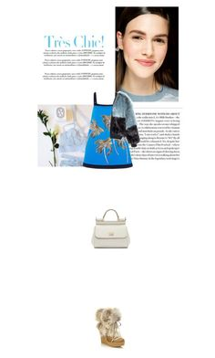 """""""tres chic"""" by janchy1 ❤ liked on Polyvore featuring Donna Karan, FAUSTO PUGLISI, Chloé and Dolce&Gabbana"""