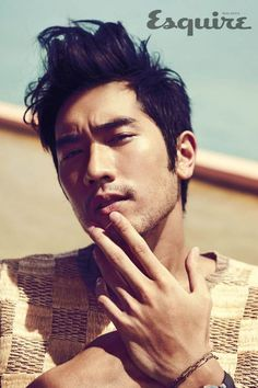 Godfrey Gao... just two scenes in a movie and I am already in love with him