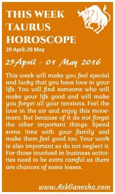 Taurus Weekly Astrology Forecasts Released on Monday