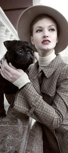 Photo by Andrey Yakovlev & Lili Aleeva Mans Best Friend, Best Friends, Cute Mugs, Pug Love, Travel Style, Amazing Women, Pugs, Fur Babies, Hipster