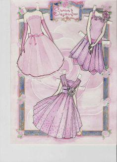 (⑅ ॣ•͈ᴗ•͈ ॣ)                                                            ✄Miss Missy Paper Dolls: Sweet September Paper dolls