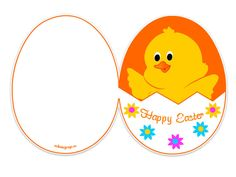 Happy Easter Card Printable  Easter    Easter Card