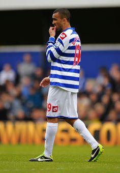 ~ Jose Bosingwa of Queens Park Rangers against Newcastle United ~ Queens Park Rangers Fc, Fc Chelsea, Newcastle, Premier League, Legends, Soccer, Football, Sports, Hipster Stuff