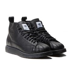 Order the adidas x Neighborhood NH Shelltoe Boots (Triple Black) and many  other Sneakers from a selection of over 30 Sneaker brands at the Allike  sneaker ...
