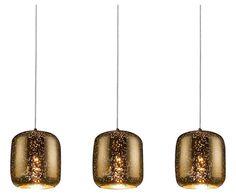 Lámpara de techo con 3 luces Starry - dorado