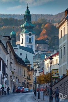Banská Štiavnica lies amid the forests of the Štiavnické vrchy Mts. and is included on the List of the UNESCO World Heritage List. Travel Around The World, Around The Worlds, Europe Train, Bratislava Slovakia, Heart Of Europe, Central Europe, Eastern Europe, Wonders Of The World, Macedonia
