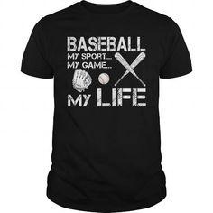 BASEBALL MY SPORTMY GAMEMY LIFE - Hot Trend T-shirts