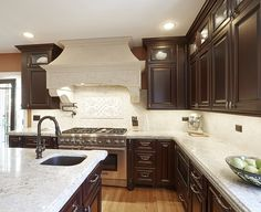 Old-World #Chicago Traditional #Kitchen by #DreamKitchens