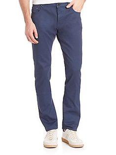 Pal Zileri Slim-Fit Jeans - Blue - Size
