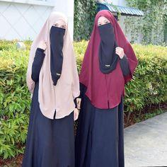 Face Veil, Beautiful Muslim Women, Islamic Clothing, Best Friend Goals, Niqab, Beautiful Creatures, Hijab Fashion, Hijab Dp, Elegant