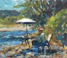 Jim McVicker · 10 1/2 X 12 1/2 Gouache Gouache, Painters, Outdoor, Street, Art, Outdoors, Art Background, Kunst, Outdoor Games