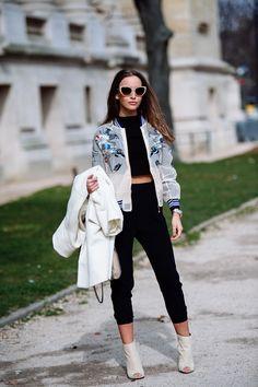 Paris Fashion Week Fall/Winter 2015 (1/3) - Street Style, Street Fashion