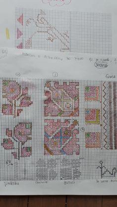 Flower Patterns, Cross Stitch Patterns, Bullet Journal, Flowers, Color, Doodle Flowers, Floral Patterns, Colour, Royal Icing Flowers
