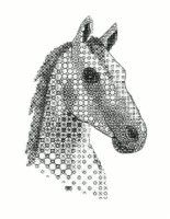 Embroidery Kits - Blackwork Embroidery, Hand Embroidery Kits, Blackwork, Stitching, Hand Embroidery Designs as an Alternative to Cross-stitch. Owl Embroidery, Hand Embroidery Kits, Blackwork Embroidery, Cross Stitch Embroidery, Embroidery Patterns, Cross Stitch Patterns, Blackwork Cross Stitch, Cross Stitching, Cross Stitch Horse