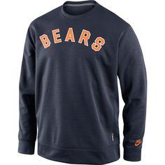 Chicago Bears Club Crew Pullover Sweatshirt by Nike $54.95  #ChicagoBears